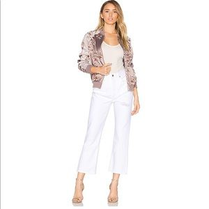 Agolde Taylor High Rise Cropped Flare Size…